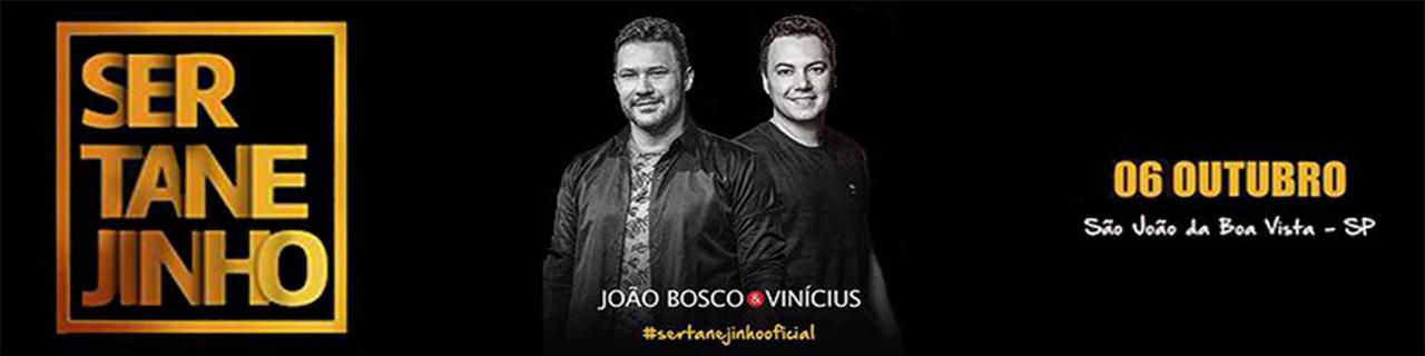 SERTANEJINHO - JOÃO BOSCO E VINÍCIUS