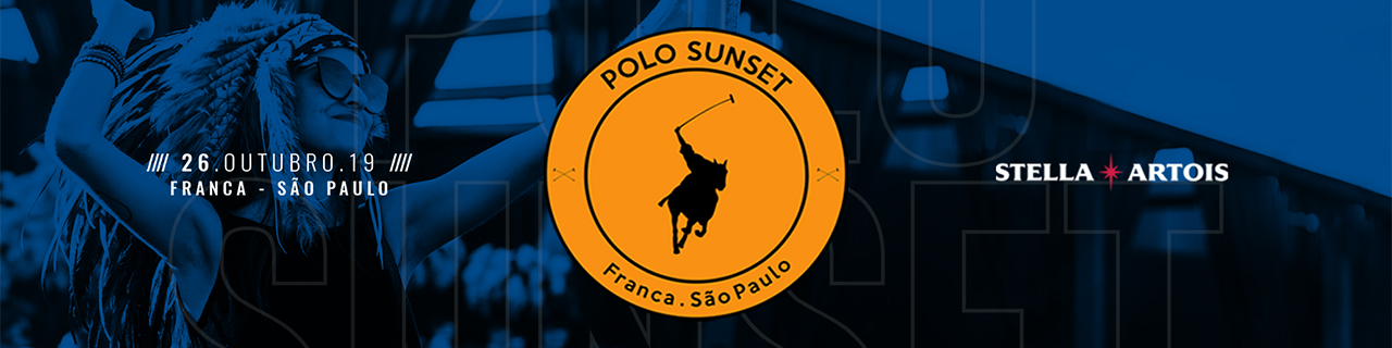 POLO SUNSET 2019 - TAXA ZERO