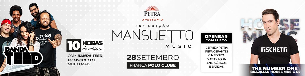 10° EDIÇÃO MANSUETTO MUSIC